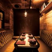 4名様用のトレーラー個室♪街中で木のぬくもりを感じながらゆったりと食事★日常では味わえない空間をご用意しております。