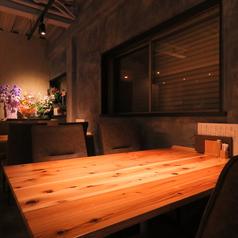 【4名テーブルx2卓ございます】3名様~4名様でご利用可能です。