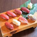 料理メニュー写真馬肉寿司~おまかせ8貫盛り
