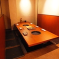 最大宴会58名までOK♪足元ラクラクの堀ごたつ個室で焼肉宴会!!