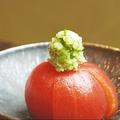 料理メニュー写真トマトの梅酢漬け