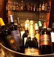ワインセラーで品質管理!豊富な各国ワイン