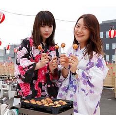 立川天空ビアガーデン 2019のコース写真