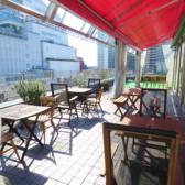 晴れた日はテラス席がおススメです☆暖かい日差しの中で、心地よい時間をお過ごしいただけます!