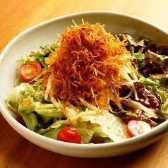 料理メニュー写真山芋と豆富の京風サラダ/ポテトのパリパリサラダ