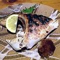 料理メニュー写真塩焼き(明石鯛、さわら、のどぐろ、きんき)