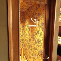 喫煙室完備!