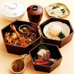 日本料理 花山椒 汐留 パークホテル東京のコース写真