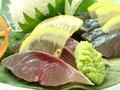 料理メニュー写真九州直送「生サバ」刺し