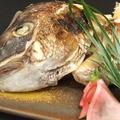 料理メニュー写真鯛のかぶと焼き