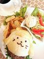 料理メニュー写真近江牛のバーガー (セット/単品)