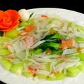 料理メニュー写真チンゲン菜のカニあんかけ炒め