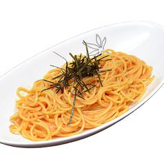 料理メニュー写真たらこと舞茸のパスタ