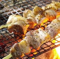 厳選食材の炭火焼き