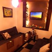 ◆6Fの店内◆大人気!ソファー付き個室!モニターも!最大8名様まで収容可!