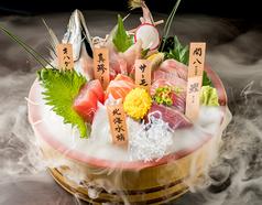 鮮魚の桶盛りと創作天ぷら 天しゃり 今池本店のおすすめ料理1