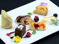料理メニュー写真6種のパティシエデザート ロワイヤルドルチェプレート