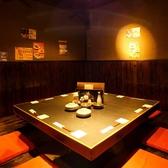 人気のお席の為、早めにご予約下さい★囲炉裏のお部屋は仲間とお席を囲むことができますよ♪