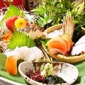 料理メニュー写真柳橋市場直送 刺身盛り合わせ3種