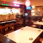 ◆6Fの店内◆テーブル席も多数!気分はリゾートホテル♪