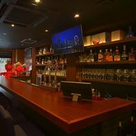 20種以上のウイスキーでハイボール 豊富なお酒の数々