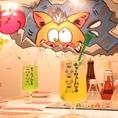 内装まで可愛いインスタ映え♪【梅田#大衆酒場#個室#ランチ#誕生日#肉#デート#女子会】