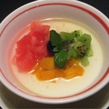 料理メニュー写真フルーツ杏仁豆腐