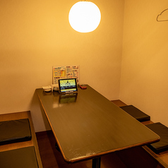プライベート空間が確保されたテーブル個室も有り!!接待や食事会にもおすすめです◎