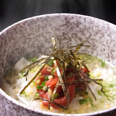 料理メニュー写真お茶漬け(梅・鮭・昆布)