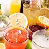 【豊橋 飲み放題】飲み放題の種類はなんと約80種以上!ビール・サワー・カクテル・日本酒・焼酎など種類豊富♪ノンアルコールカクテルやソフトドリンクも多数ご用意しておりますのでお酒が苦手な方もお楽しみいただけます。