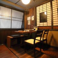 土浦駅から徒歩4分♪個室席・半個室席ご用意しています
