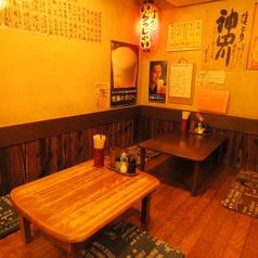 【1階/座敷タイプ4名席×1卓/3名席×1卓】仕事帰りの飲み会に!開放的な空間でワイワイ飲みたい日はこちら♪