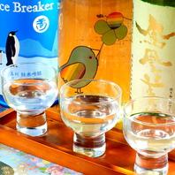 おすすめ日本酒各種・・・焼酎もいろいろあります!
