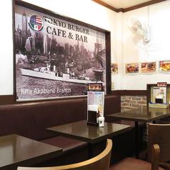 TOKYO BURGER 東京バーガー Cafe&Bar 北赤羽店の雰囲気1
