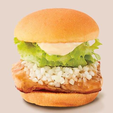 【15:00〜限定】チキンバーガーポテトドリンクセットコース(税込)870円〜