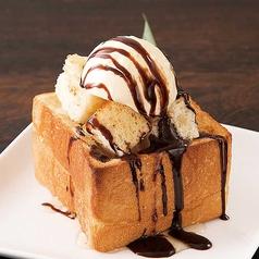 料理メニュー写真チョコハニートースト