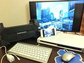 全個室にDVD・ブルーレイプレーヤーとTVを完備◎レンタルでPC、スピーカー、iPhone・iPadをTVに映せるケーブルなども♪