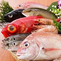和食一筋の料理長がこだわった厳選された食材の数々 !!