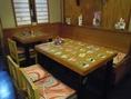 テーブル5名席