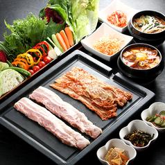 料理メニュー写真豚の王道『サンパセット』