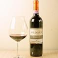おすすめワイン1 【バローロ リゼルヴァ アウダチェ ロベルト サロット(イタリア)】セレクションした葡萄を使い、大樽で熟成させたワイン。複雑で魅惑的な香り豊かで柔らかな味わい。バランスがよく、長い余韻を感じれます。(税抜10900円)