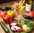 料理メニュー写真道産野菜のバーニャカウダ
