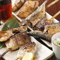 料理メニュー写真魚串焼き おまかせ5本