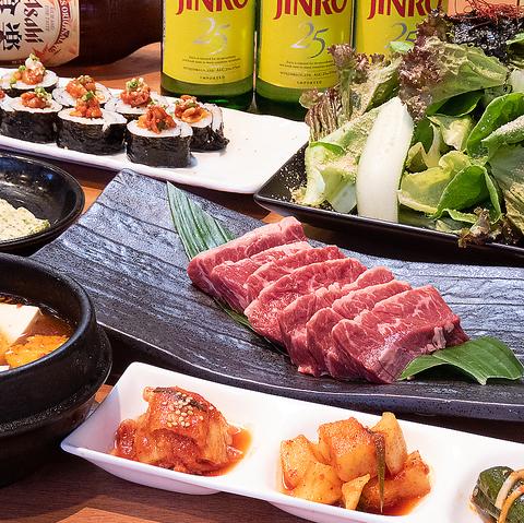 焼肉なら【天下味 栄田】 ご家族のお食事に、ご宴会に、満足の各種個室充実♪