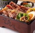 料理メニュー写真【黒毛和牛フェア】『神戸牛尽くし膳~神戸牛重・肉とろろ蕎麦~』