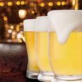 ★SUPER''DRY''甘太郎のこだわり!!生ビール★キレイに洗浄された大きなジョッキ。黄金のビールの上にクリーミーな泡。極上の一杯、ゴクゴクといっぱい!さぁ飲みましょう!!