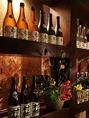 越後の銘酒が入口にてお出迎え。貴重な季節限定酒なども取り揃えております。