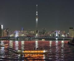 屋形船 大江戸の写真
