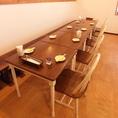 10名様テーブル席 ※席の結合をしております。