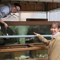 【生け簀からその場で魚選べる♪】鮮度抜群!